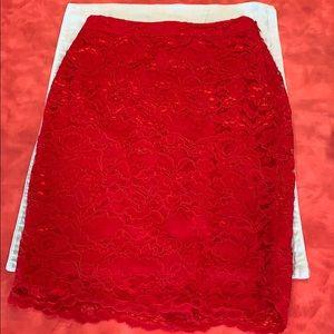 Limited Size 2 Red Skirt